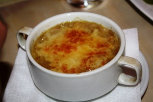 Monsignor Gaston's Traditional French Onion Soup.