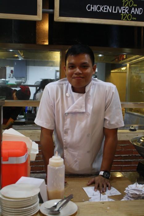 Chef Michael Bato is UCLA-trained.