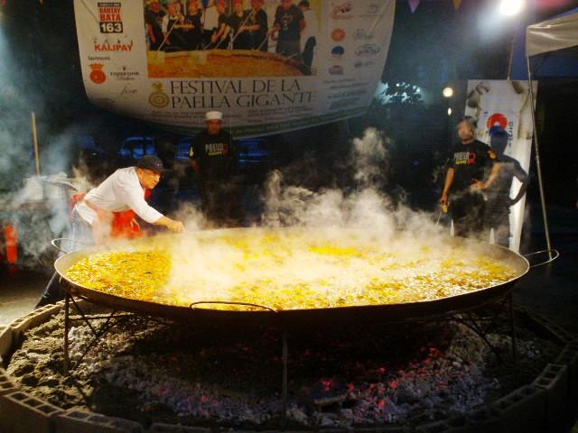 The Festival De La Paella Gigante.