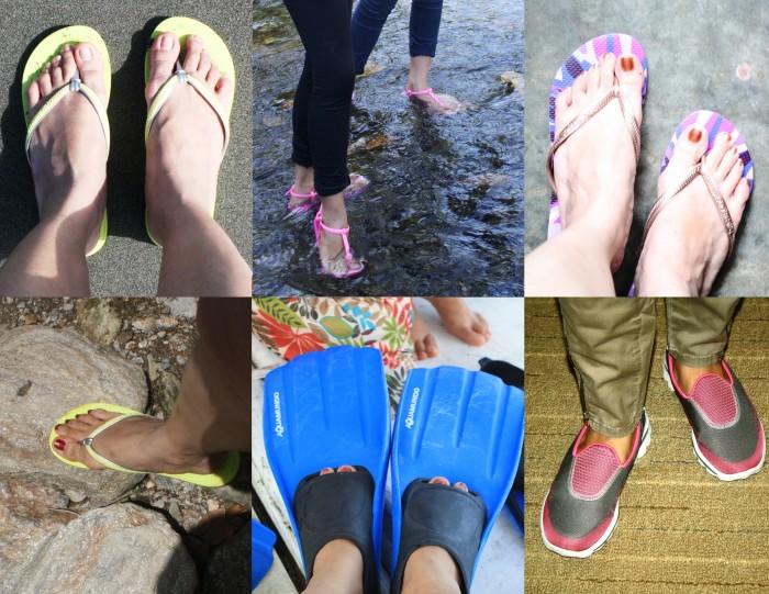 Happy travelling feet.