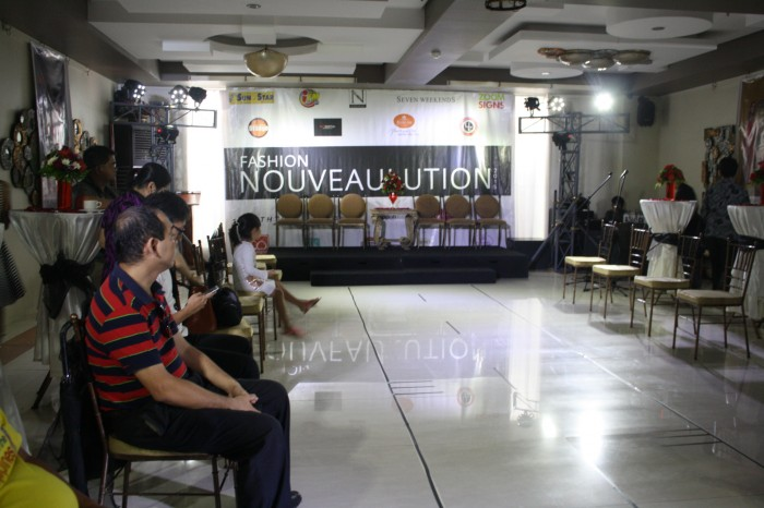 A preview of Fashion Nouveaulution during the press event.
