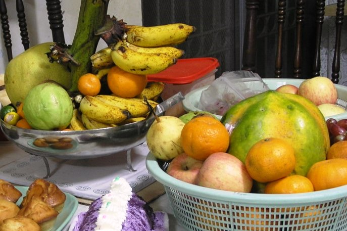 Tropical fruits are plenty in the Philippines.