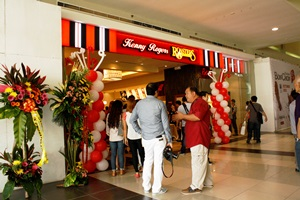 The newly opened Kenny Rogers Roasters in SM City Bacolod.