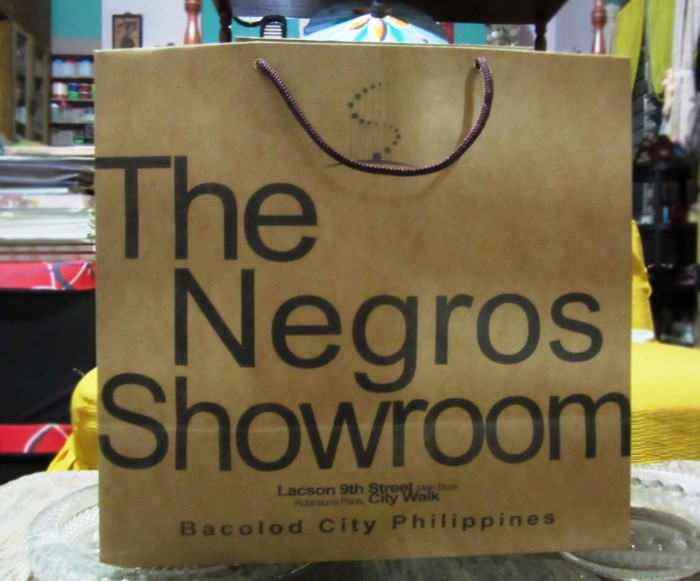 Patronize Negros products.