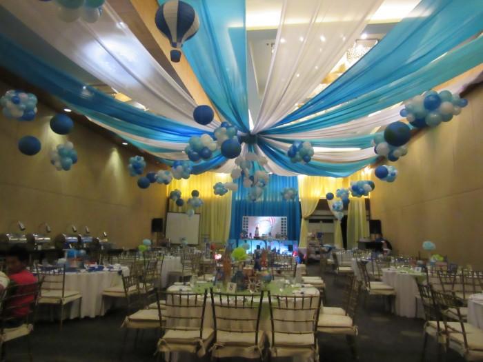 The party venue.