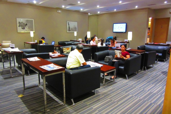 The Prestige Lounge.