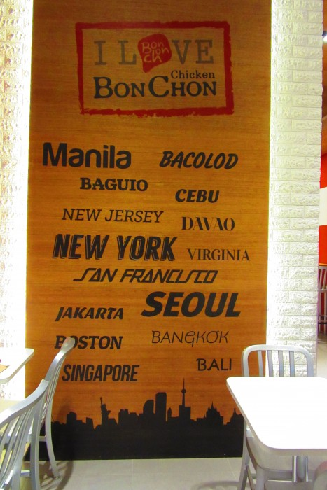 BonChon all over the world.