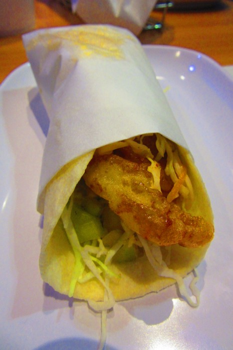 Fish taco.