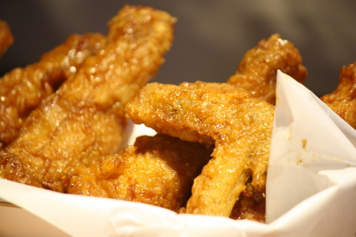 Can't get enough of chicken? Grab a bite of BonChon chicken and you'll love it!