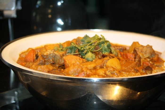 The Malaysian Chicken Curry.