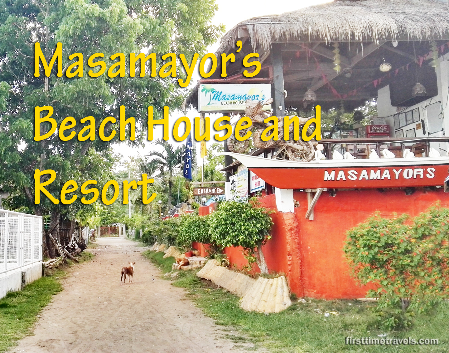 Masamayor's Beach House and Resort
