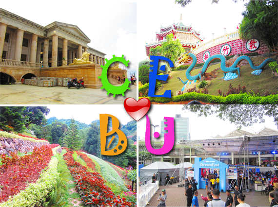 Cebu City Tourist Spot Collage